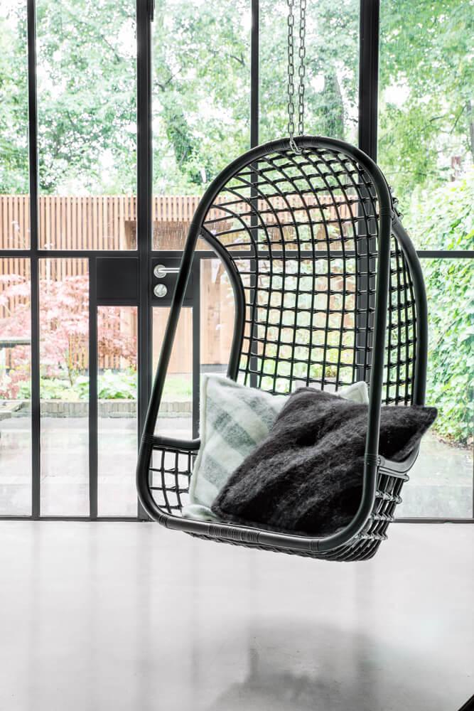 podwieszany fotel